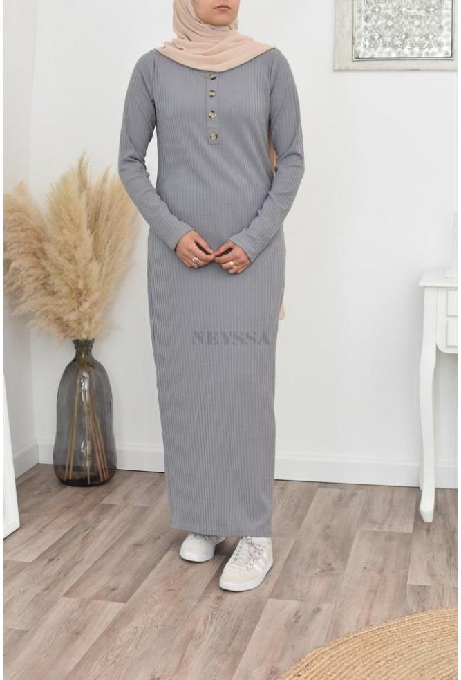 robe longue manches longue Hiver