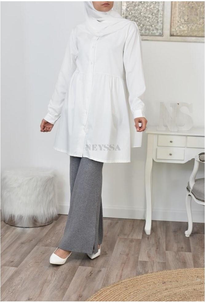 Chemise longue femme musulmane