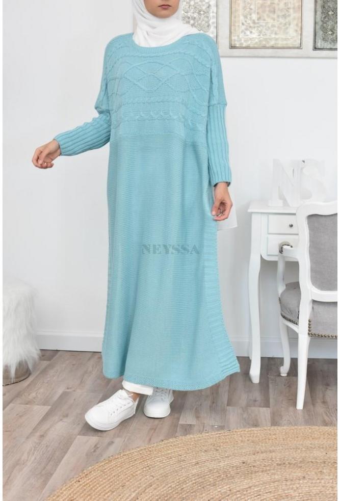 Tunique tricot Farasha longue pas cher