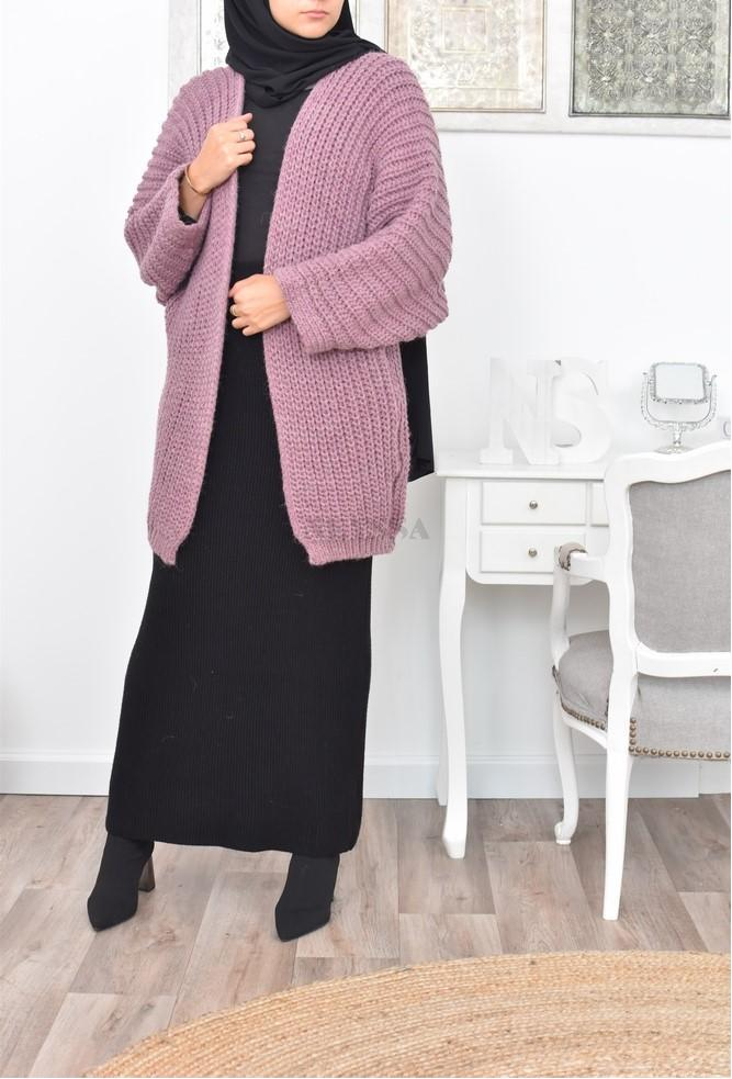 Cardigan Oversize laine pas cher