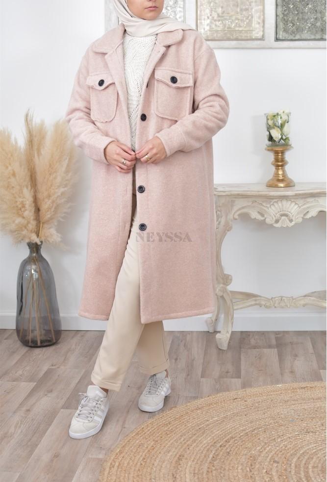 Sur chemise manteau chemise hiver