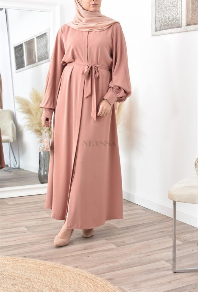 Robe abaya mastour Ramadan et Aïd 2022