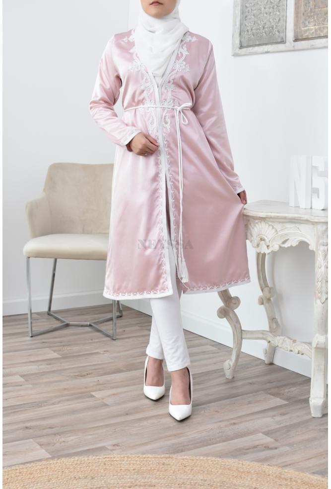 kimono caftan Straight cut for Muslim women