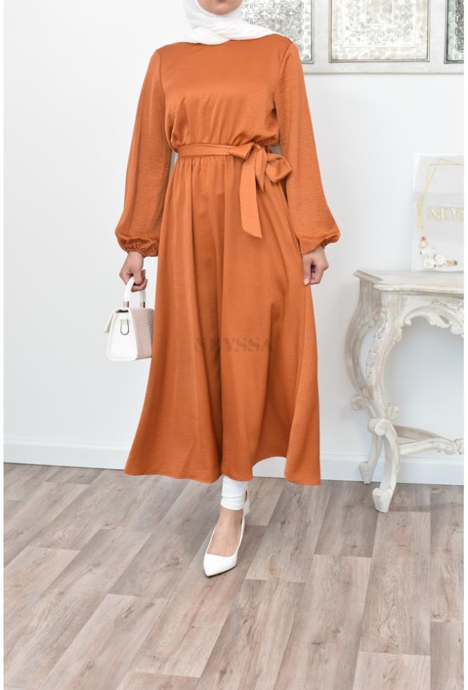 Flared tunic dress