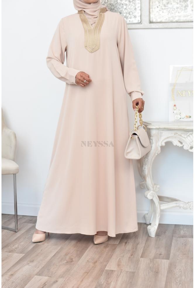 Robe longue Abaya femme sfifa